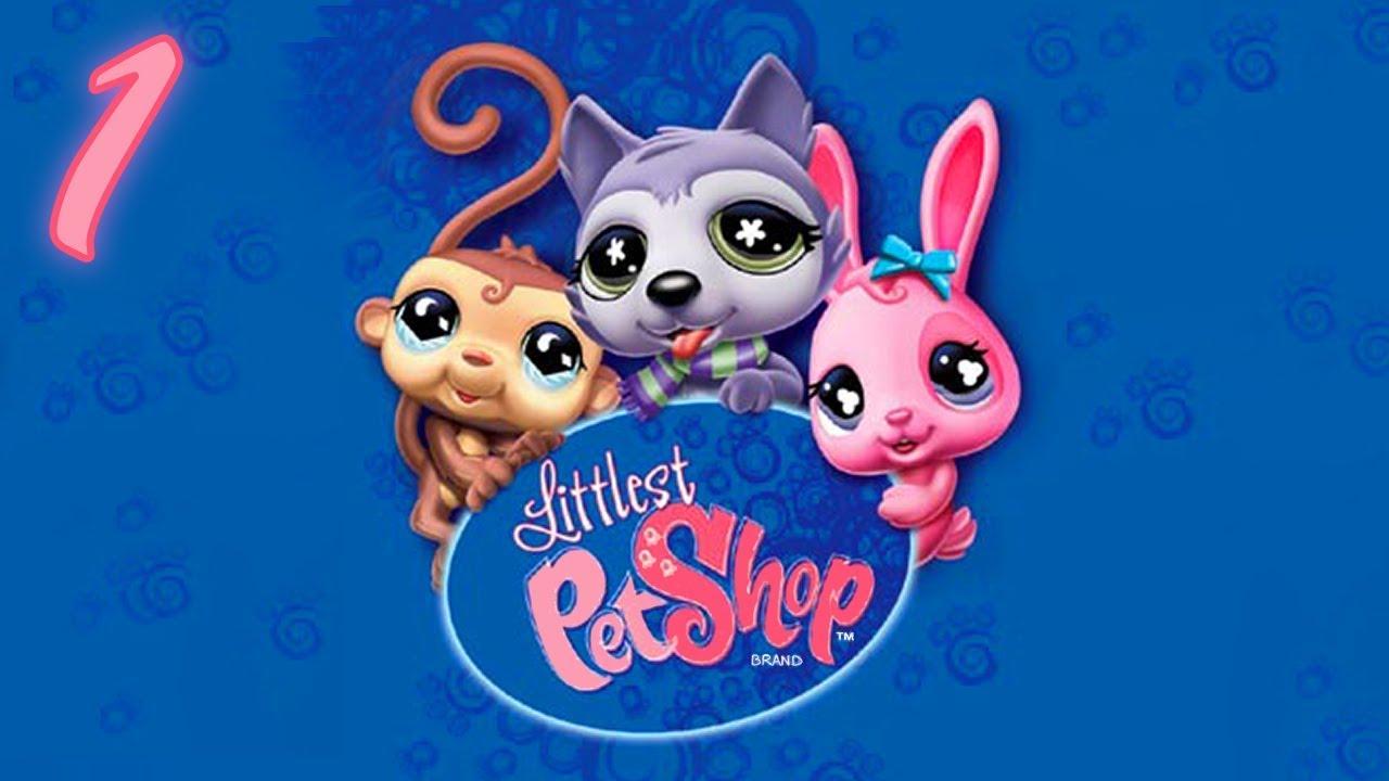 Littlest Pet Shop: The Game – 1080p60 HD Walkthrough Part 1 – Pets Plaza #1: Intro