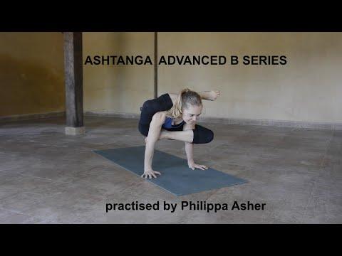 Philippa Asher practising Advanced B Ashtanga Yoga Series