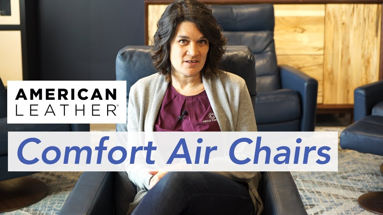 American Leather Comfort Air Chair