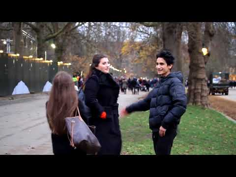 !Kissing Prank   15 Year Old Kissing Girls In London