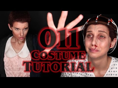 STRANGER THINGS ELEVEN 4-in-1 COSTUME TUTORIAL (ft. RawBeautyKristi)