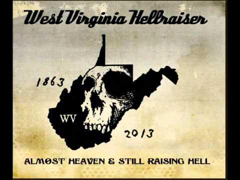 Retro~ West Virginia Hellraiser-TOXIC T's