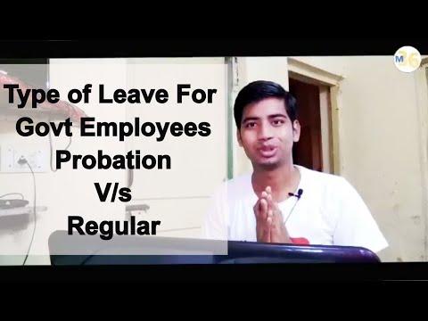 Leaves Entitlement For Govt Employees (Probation / Regular) | CL CCL HPL EOL STUDY LEAVE MATERNITY