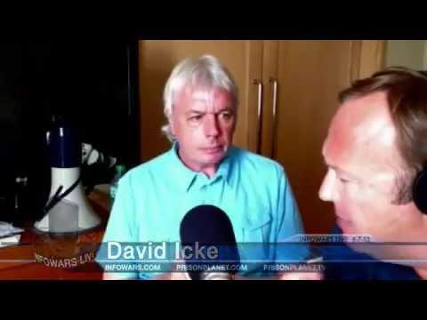 David Icke Meets Alex Jones Talks The Royal Families, the Illuminati exposed