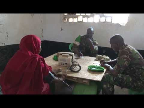 AMISOM medical clinic in Kisma, Somalia - Unravel Travel TV