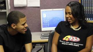 q93 tv exclusive j cole the sideline story