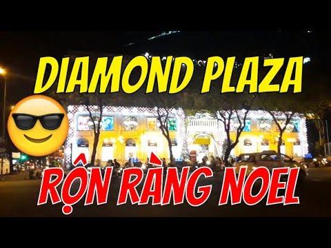 [LUNG LINH ẢO DIỆU] DIAMOND PLAZA RỘN RÀNG NOEL 2018 | Guide Saigon Food