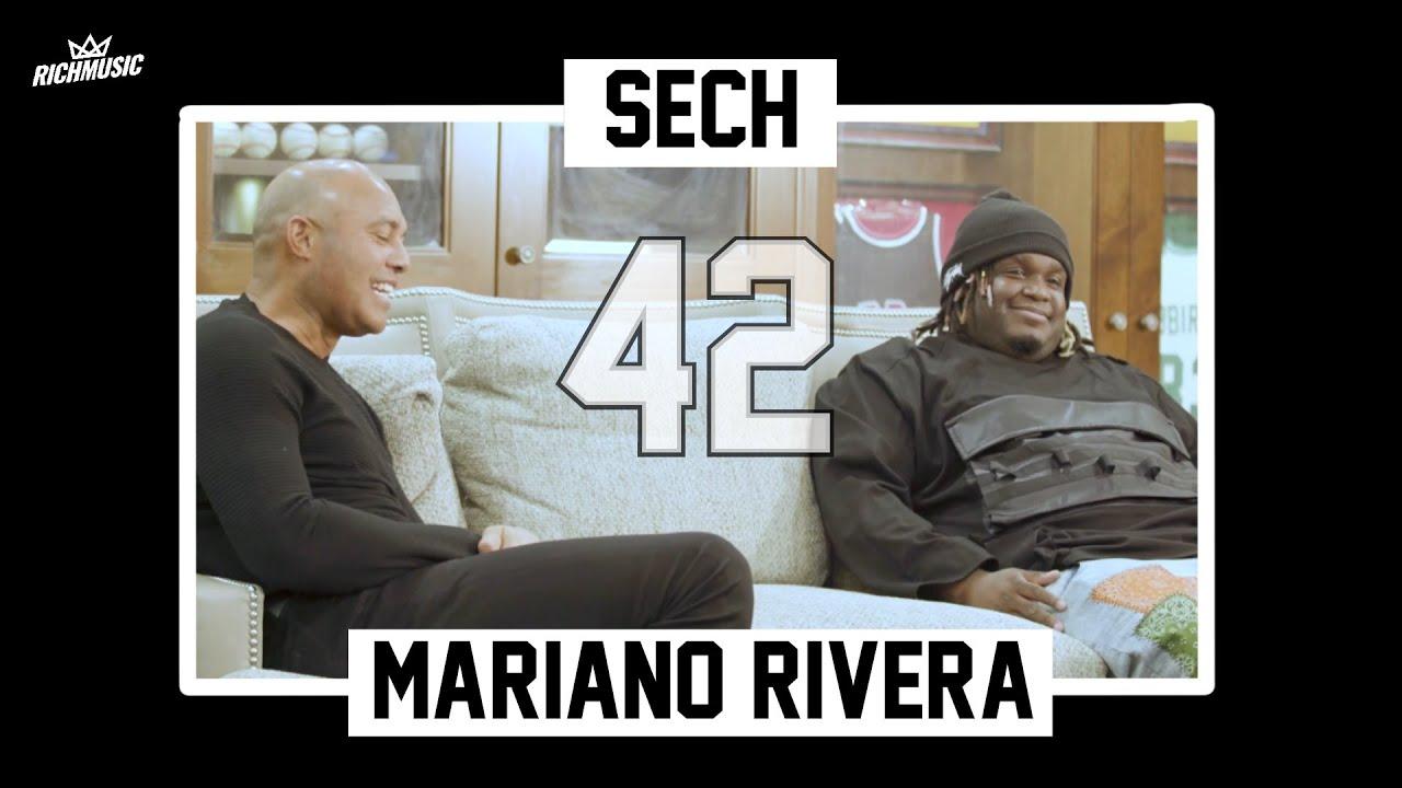 """Histórica conversación entre Sech y Mariano Rivera """"42"""""""