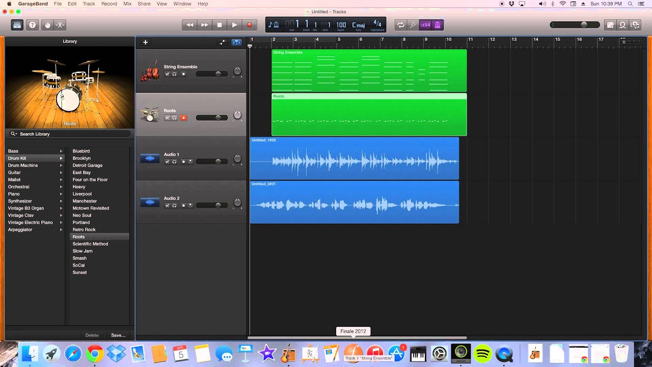 How To Add Audio And Sound Effects To Garageband Youtube