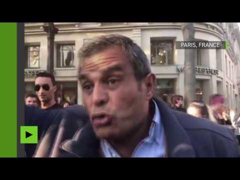 L'ancien député du FN a violemment critiqué la maire de Paris sur les Champs-Elysées