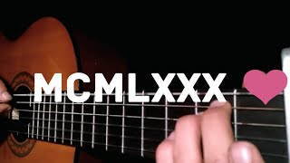 MCMLXXX - José Madero - Fingerstyle Guitar Cover
