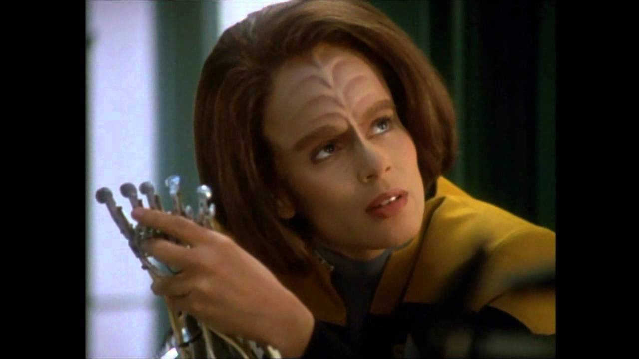 B'elanna Torres talking about Data.wmv - YouTube