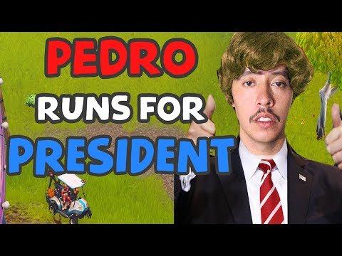 PEDRO TRUMP FOR PRESIDENT | NEW PLAYGROUND GAME | Fortnite Battle Royale