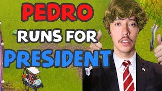 PEDRO TRUMP FOR PRESIDENT | NEW PLAYGROUND GAME | Fortnite Battle Royale