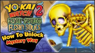 Yo-Kai Watch 2 - How To Unlock Mystery Way With Yo-Kai Watch 2 Link! [YW2 Tips & Tricks]