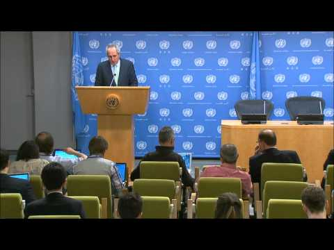 On Ukraine, UN Has No Comment on New US & EU Sanctions & Russia's Constitution Idea