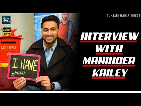 Maninder Kailey | Ghar Bar (ਘਰ Bar) | Exclusive Interview 2018
