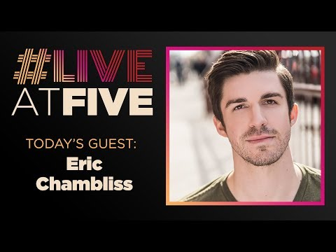 Broadway.com #LiveatFive With Eric Chambliss Of The JERSEY BOYS National Tour