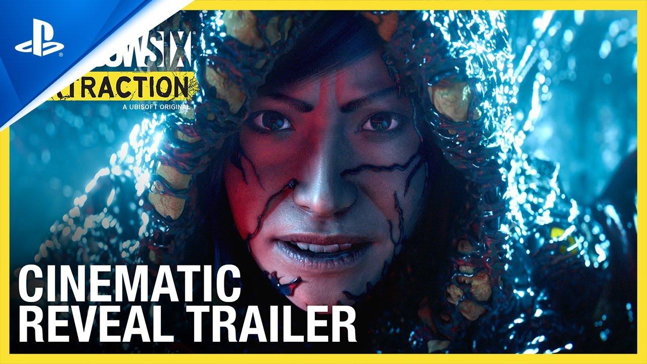 Tom Clancy's Rainbow Six Extraction cinematic reveal trailer