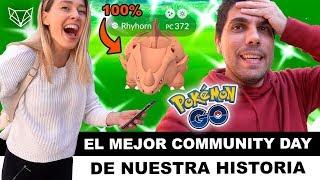 ✨ PASARÁN AÑOS Y SEGUIREMOS RECORDANDO ESTE DÍA: COMMUNITY DAY RHYHORN - Pokémon Go [Neludia]
