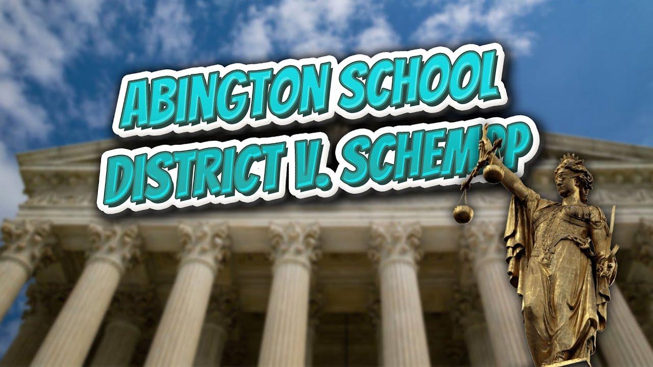 abington school district v schempp