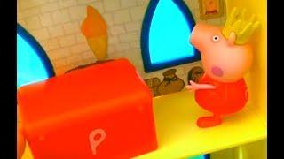 Мультфильм игрушками Свинка Пеппа Свинка Pig Сказочное королевство