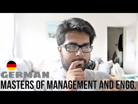 About german speaking (MEM) Masters of Management and Engineering