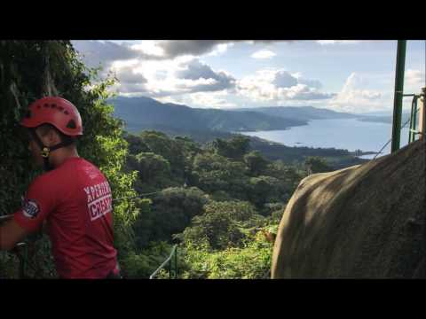Amazing zipline in Costa Rica, Arenal Park - Sky Adventures