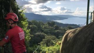 Amazing zipline in Costa Rica, Arenal Park - Sky Adventures