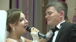 Подарок сюрприз невесты для жениха (песня+реп)