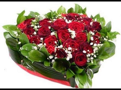 Букет Красное сердце. Букет ко Дню Влюбленных - SendFlowers.ua