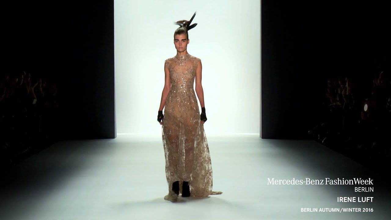 IRENE LUFT: Mercedes-Benz Fashion Week Berlin AW2016 - YouTube
