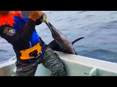 Fishing By Hook | Caught Big Fish From Singapore Ocean ||