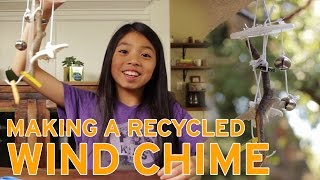 How To Make a Recycled Wind Chime | Full-Time Kid | PBS Parents