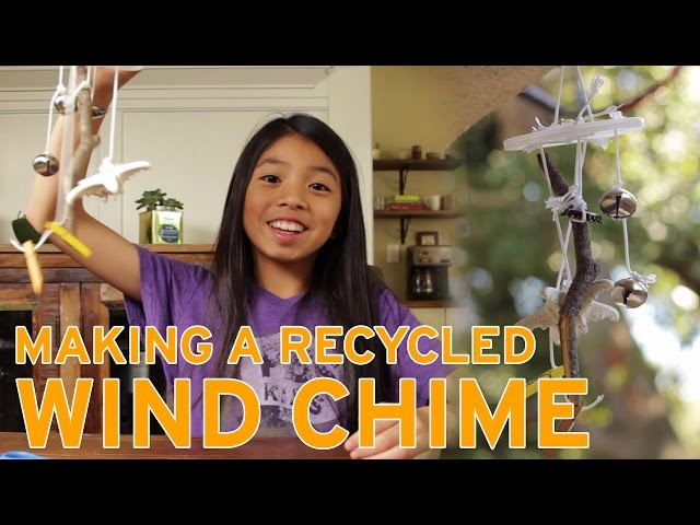 How To Make a Recycled Wind Chime