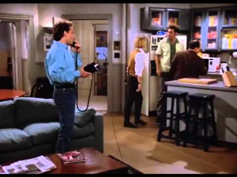 Seinfeld - Telemarketer Call [Season 4, Ep. 3: The Pitch]