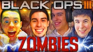DEMASIADO ÉPICO!! - The Giant ZOMBIES con Willyrex, Alexby y Grefg! - Black Ops 3 ZOMBIES