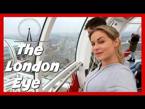 WE RODE THE LONDON EYE - travel vlog 2016