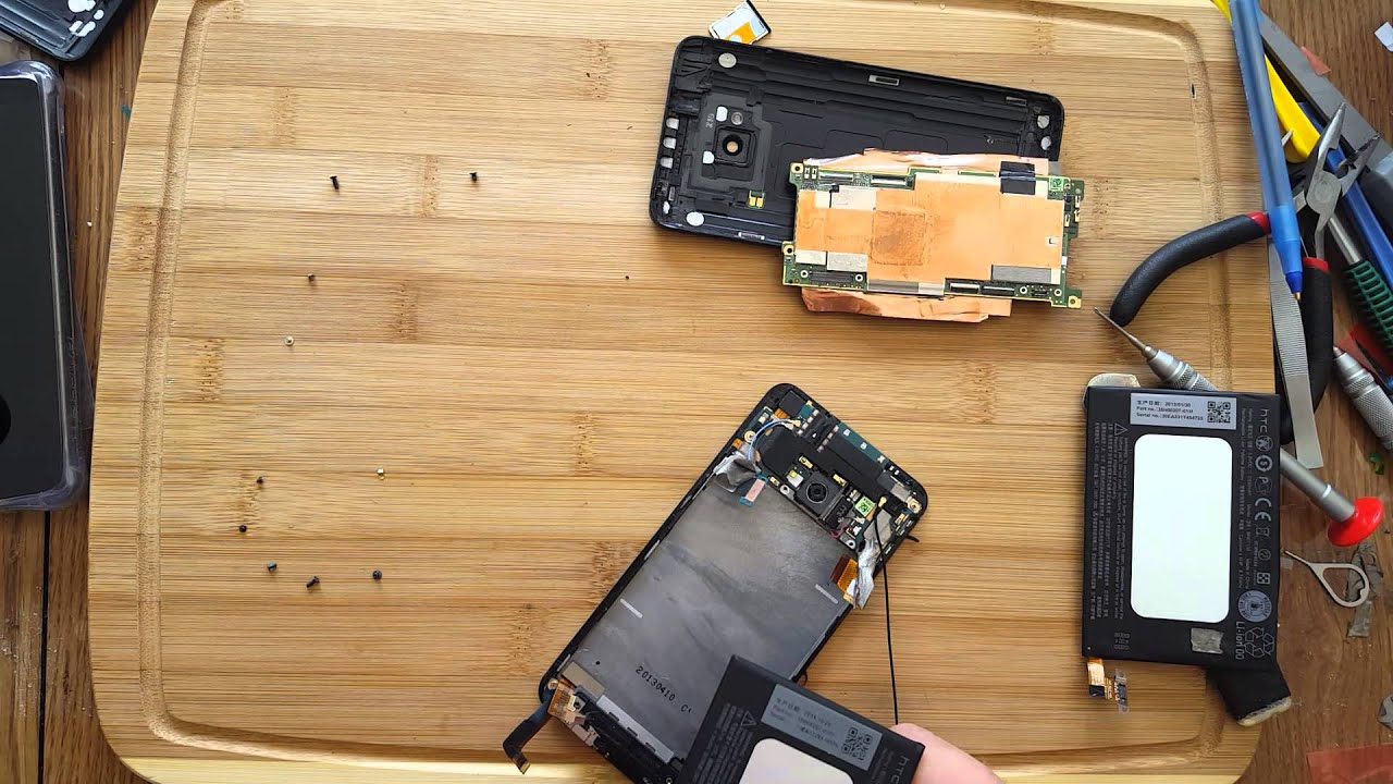 HTC ONE M7 Replacement Battery Tech MD