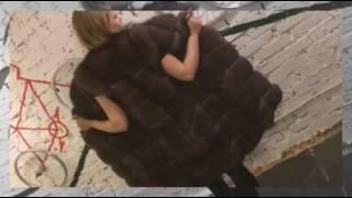 видео жилетки меховые