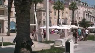 SPLIT TROGIR  VII 2010(SPLIT Miasto z portem na półwyspie pomiędzy zatoką Kastela i morskim kanałem Split. Jest ekonomiczym, transportowym, kulturalnym, leczniczym i naukowym ..., 2010-10-03T21:28:55.000Z)