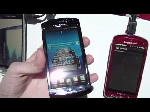 Sony Ericsson Xperia neo and Xperia pro Hands-on