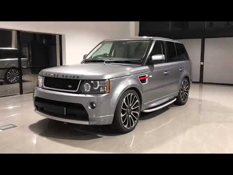Grey Range Rover Sport Autobiography Facelift Conversion Bespoke 22
