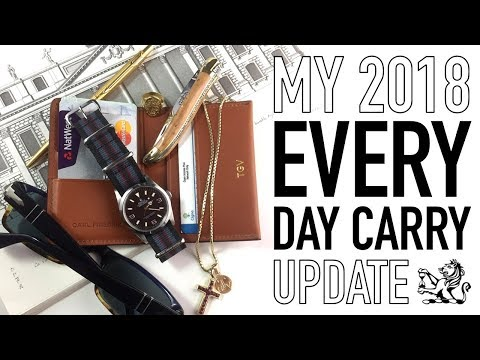 My Upgraded 2018 EDC - The Best Wallet & Perfect Gentlemen's Luxury Pocket Knife + A Favourite Rolex