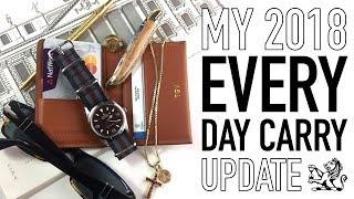 My Upgraded 2018 EDC - The Best Wallet & Perfect Gentlemen