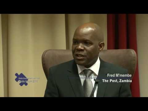 Fred M'membe, Editor, The Post, Zambia