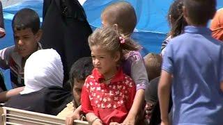 قصص مؤلمة لنازحي الموصل ومعاناتهم مع داعش