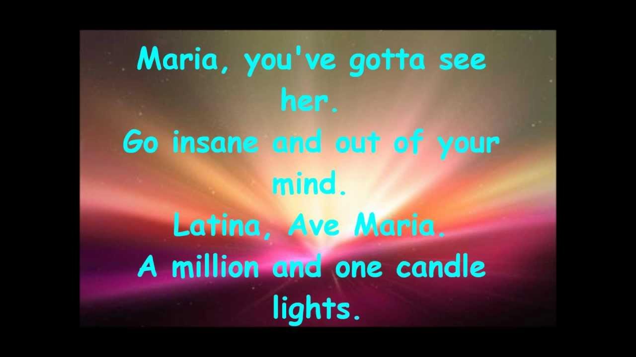 Blondie - Maria [With lyrics]