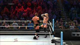 WWE 2K14 Triple Threat! Cm Punk vs Triple H vs Mr. Mcmahon