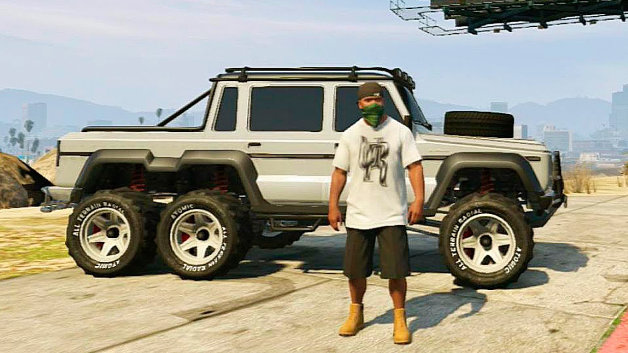 Grand Theft Auto V Customizing Dubsta 6x6 Mercedes Benz